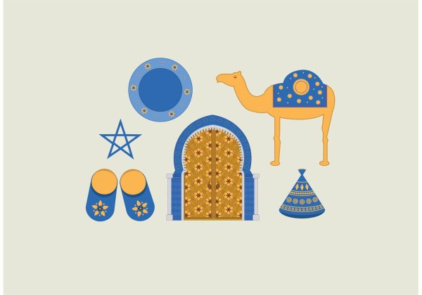 morocco vector pack