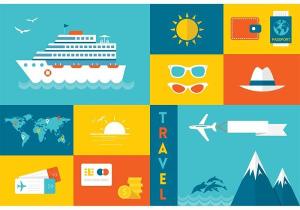 Free Flat Travel Vector Icons Download Free Vectors
