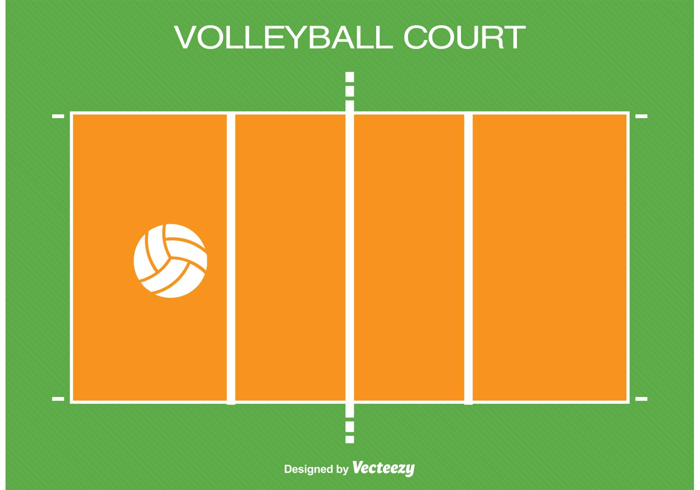 Cancha De Voleibol Y Sus Medidas