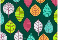 Abstract Leaves Vector Wallpaper - Download Free Vector ...