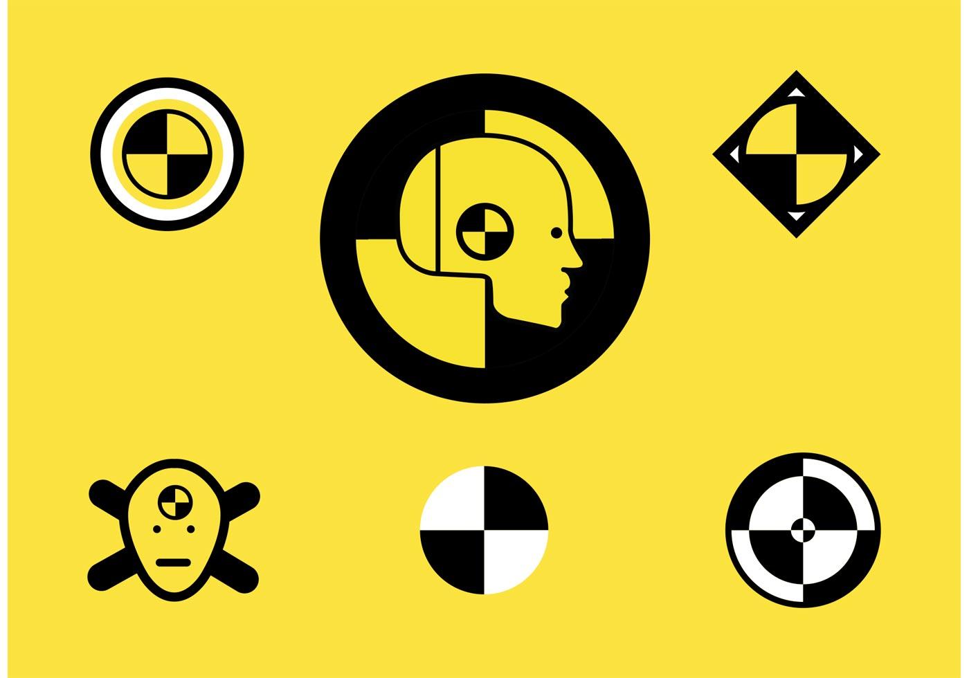 Crash Dummy Logos Vector Free  Download Free Vector Art Stock Graphics  Images