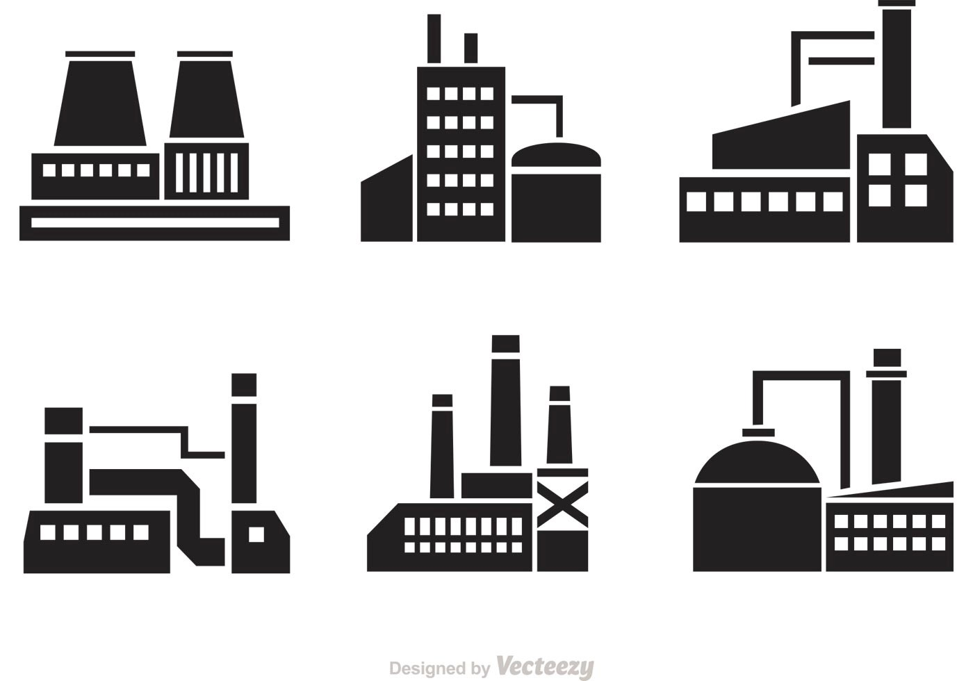 Factory Free Vector Art