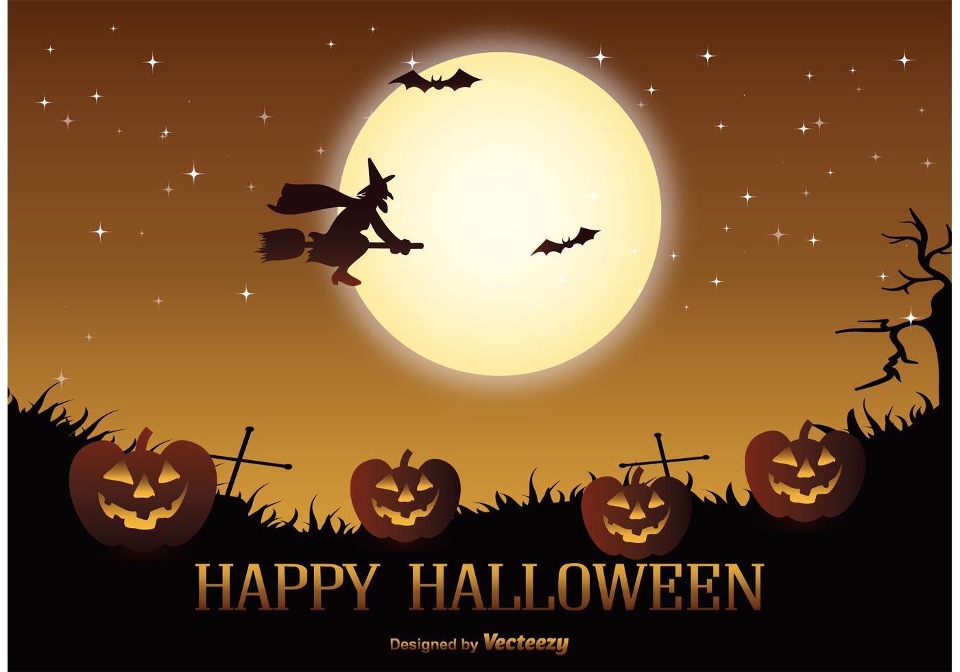 Cute Halloween Bat Wallpaper Halloween Free Vector Art 7 930 Free Downloads