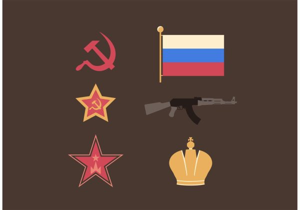 Russia Symbols Free Vector Download Free Vector Art