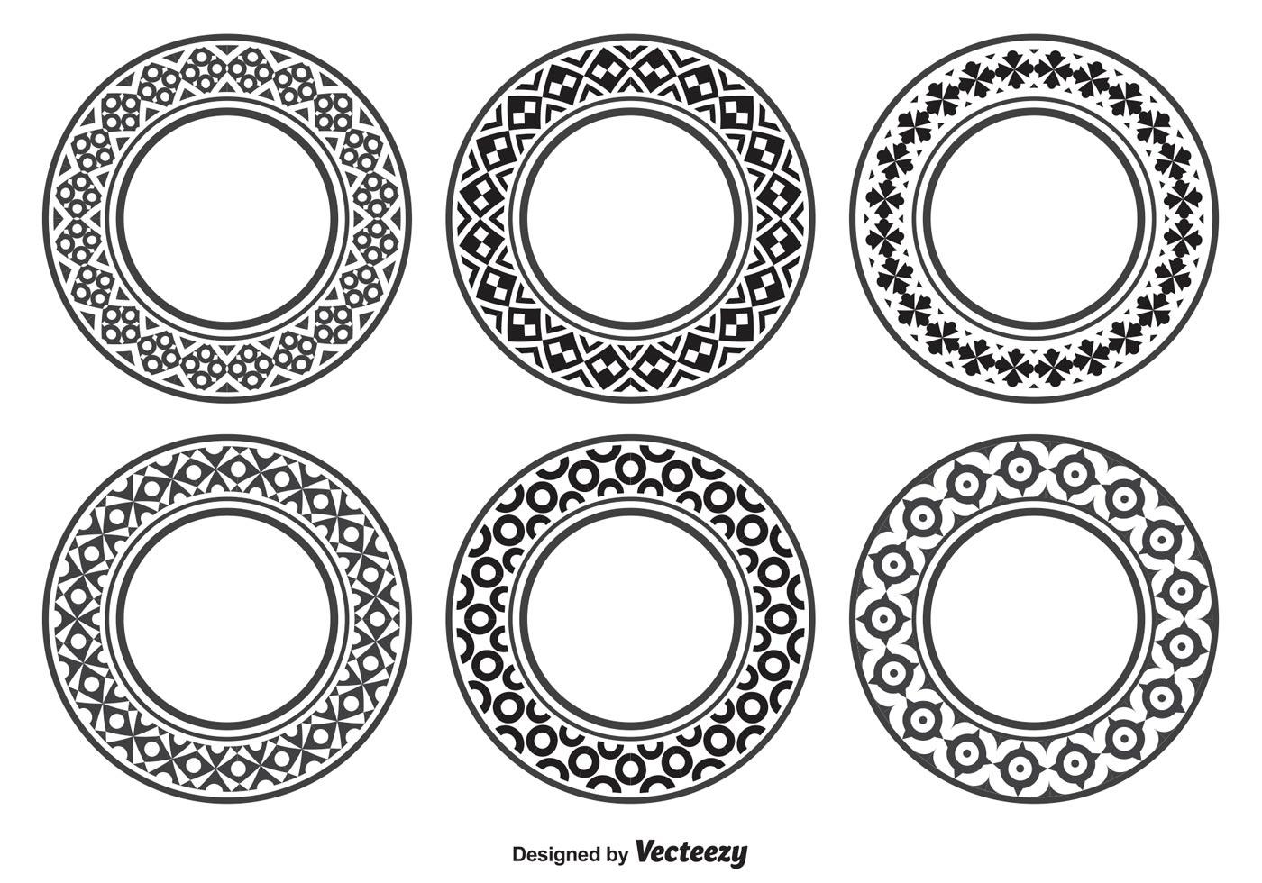 Decorative Circle Shapes