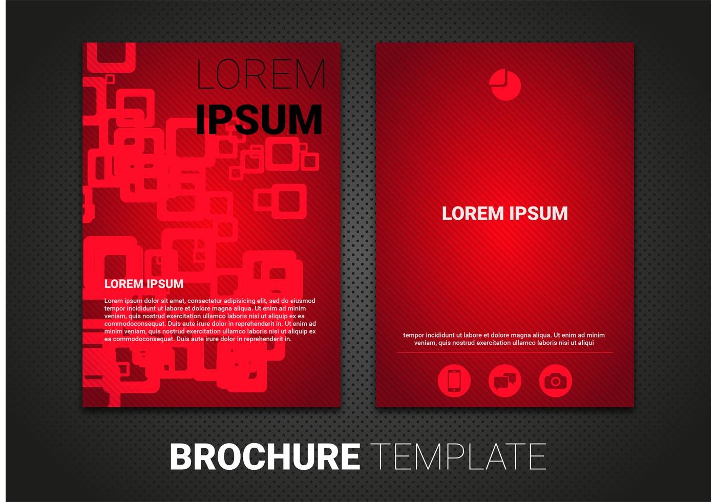 Free Brochure Template Vector Download Free Vector Art
