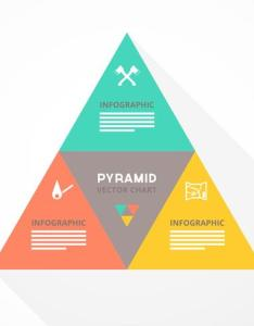 Free pyramid chart vector also download art stock graphics rh vecteezy