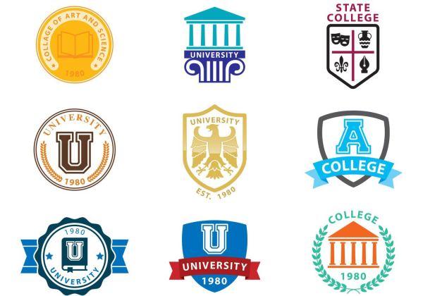 University Logo Vectors Download Free Vector Art Stock