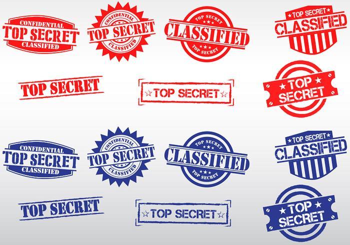 Top Secret Stamp Vectors Download Free Vector Art Stock