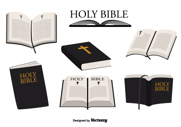 Open Holy Bible Clip Art Free