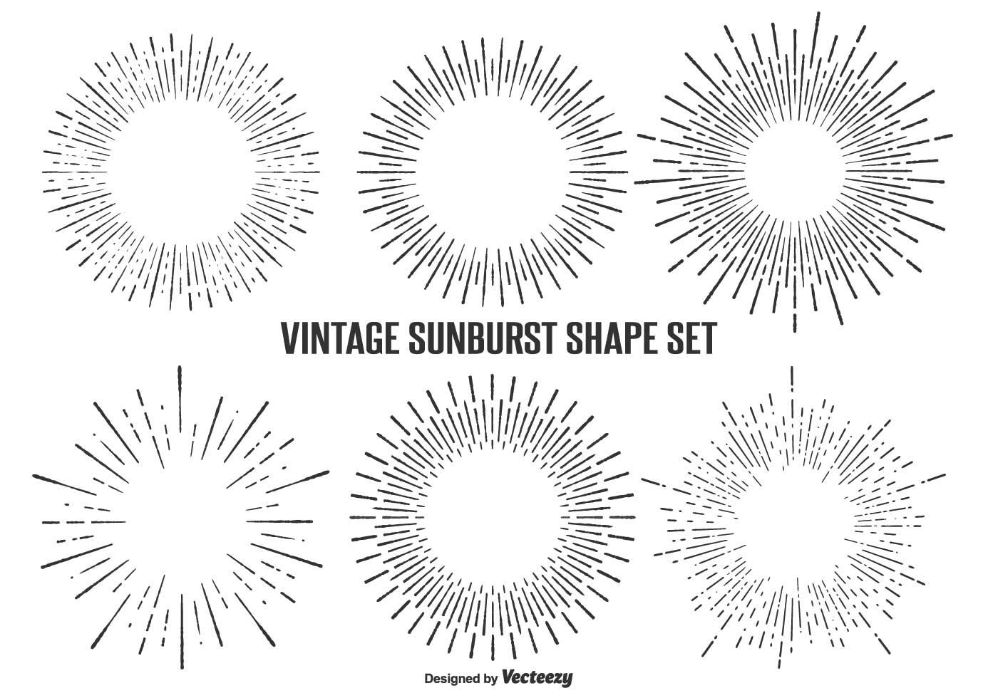 Sunburst Free Vector Art
