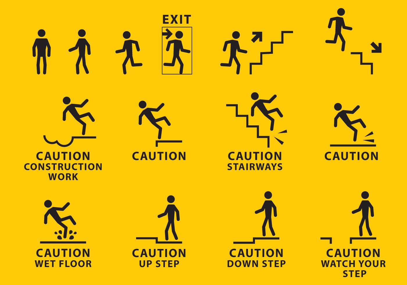 Warning Sign Vectors
