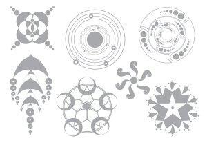 vector crop circles simple vectors clipart graphics vecteezy