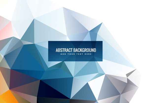 Abstract Vector Shapes Polygonal