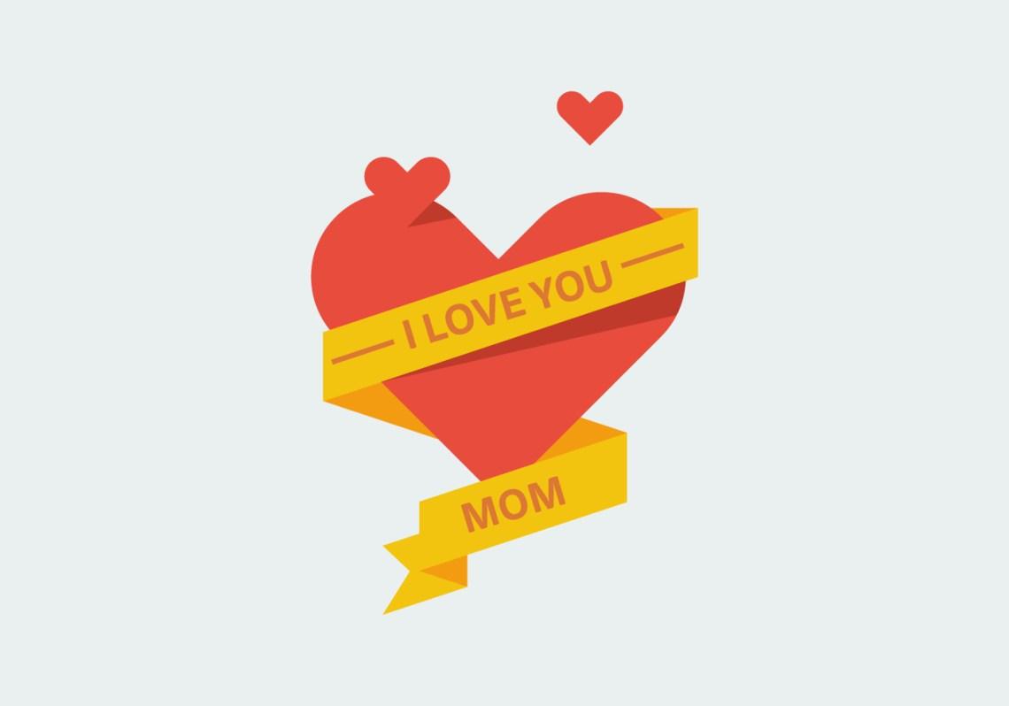Download Love Mom Free Vector Art - (5181 Free Downloads)