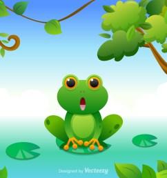 free cartoon green tree frog vector download free vector art stock graphics images [ 1400 x 980 Pixel ]