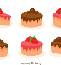 stawberry and choco cake slice download free vector art stock graphics images [ 1400 x 980 Pixel ]