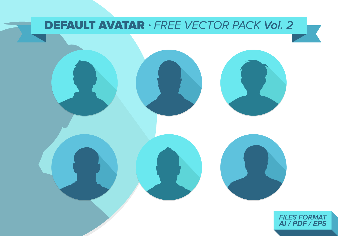 Default Avatar Free Vector Pack Vol 2 Download Free