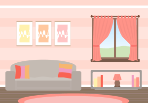 living vector vecteezy background illustration vectors cartoon clipart livingroom simple rooms graphic flat modern couch desenho graphics para printable backgrounds