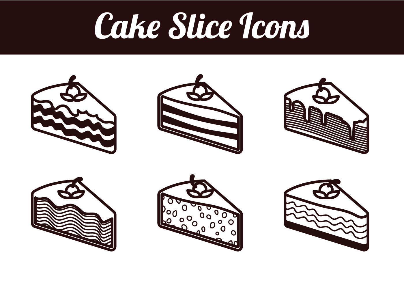 hight resolution of slouse of cake clipart
