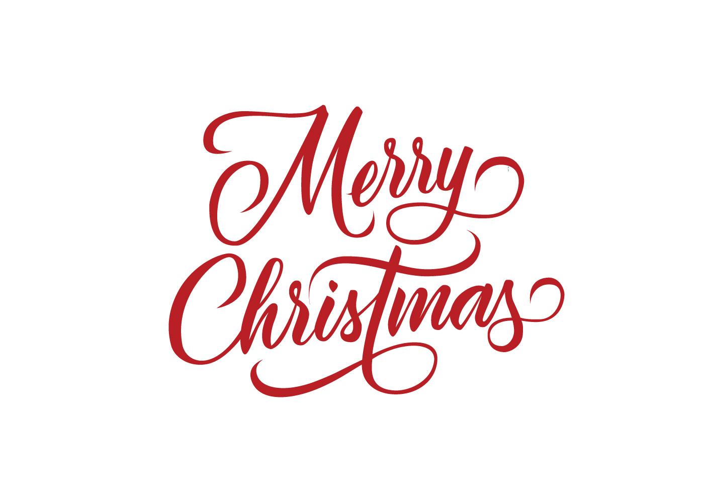 Merry Christmas Decorative Lettering Vector Download Free Vectors Clipart Graphics Vector Art
