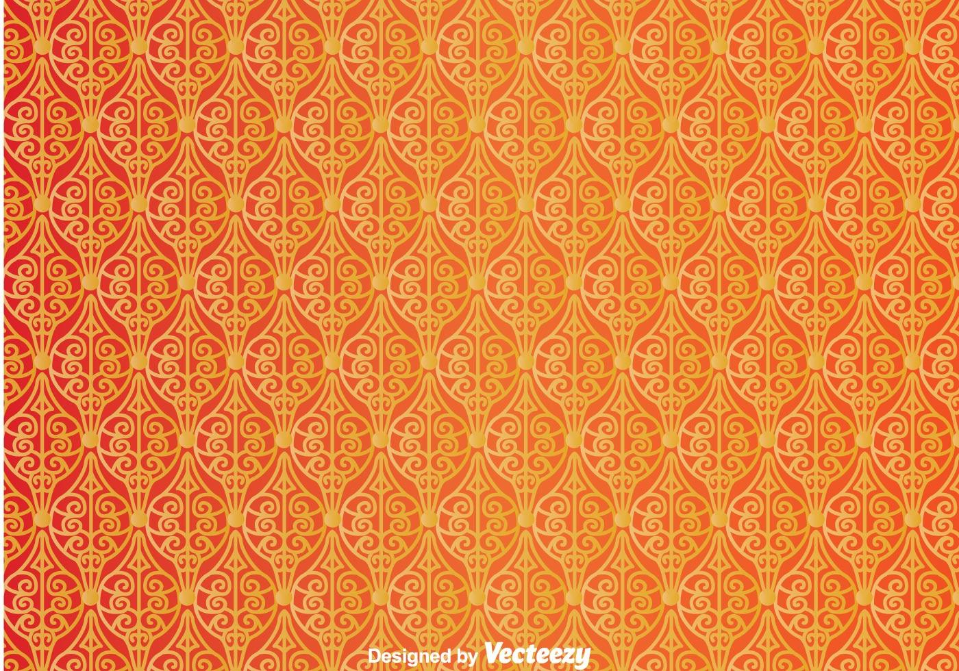 Ornament Orange Wall Tapestry  Download Free Vectors
