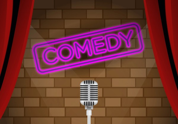 Vector Comedy Club Stage - Free Art Stock