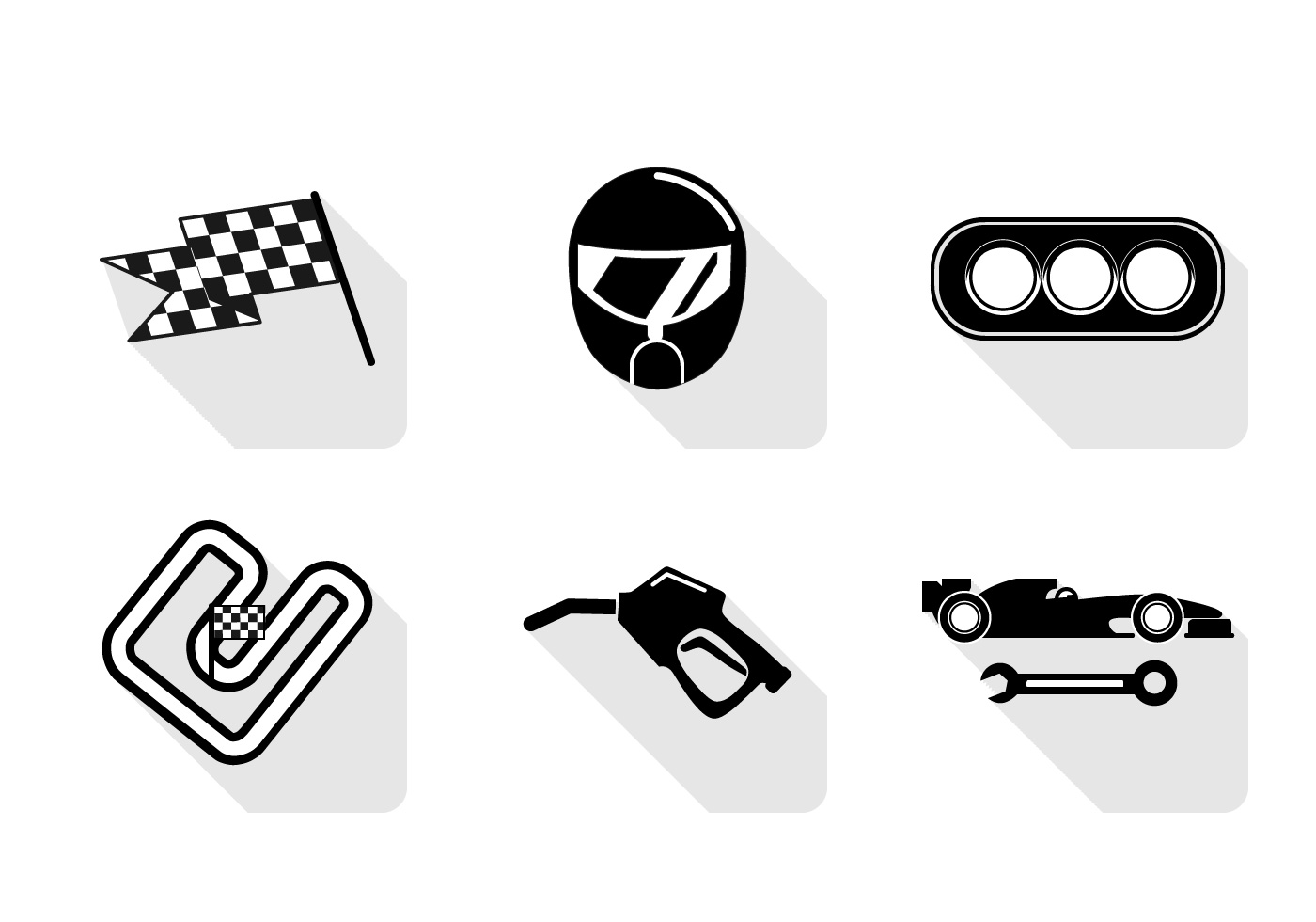 Vector Pit Stop Icon