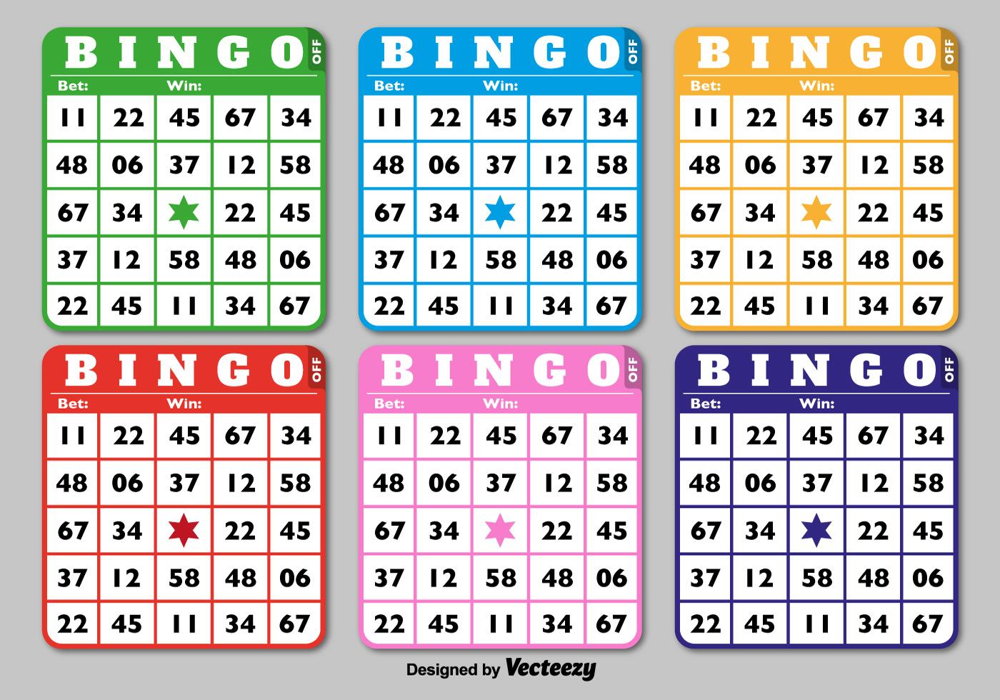 Klassieke Bingo Kaarten