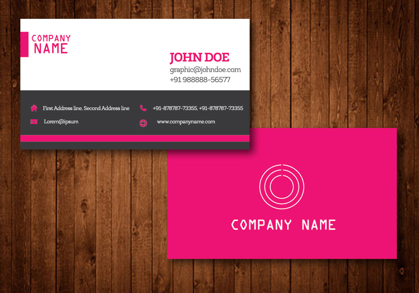 free download visiting card templates