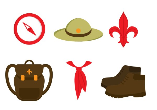 Boy Scout Vector Graphics - Year of Clean Water