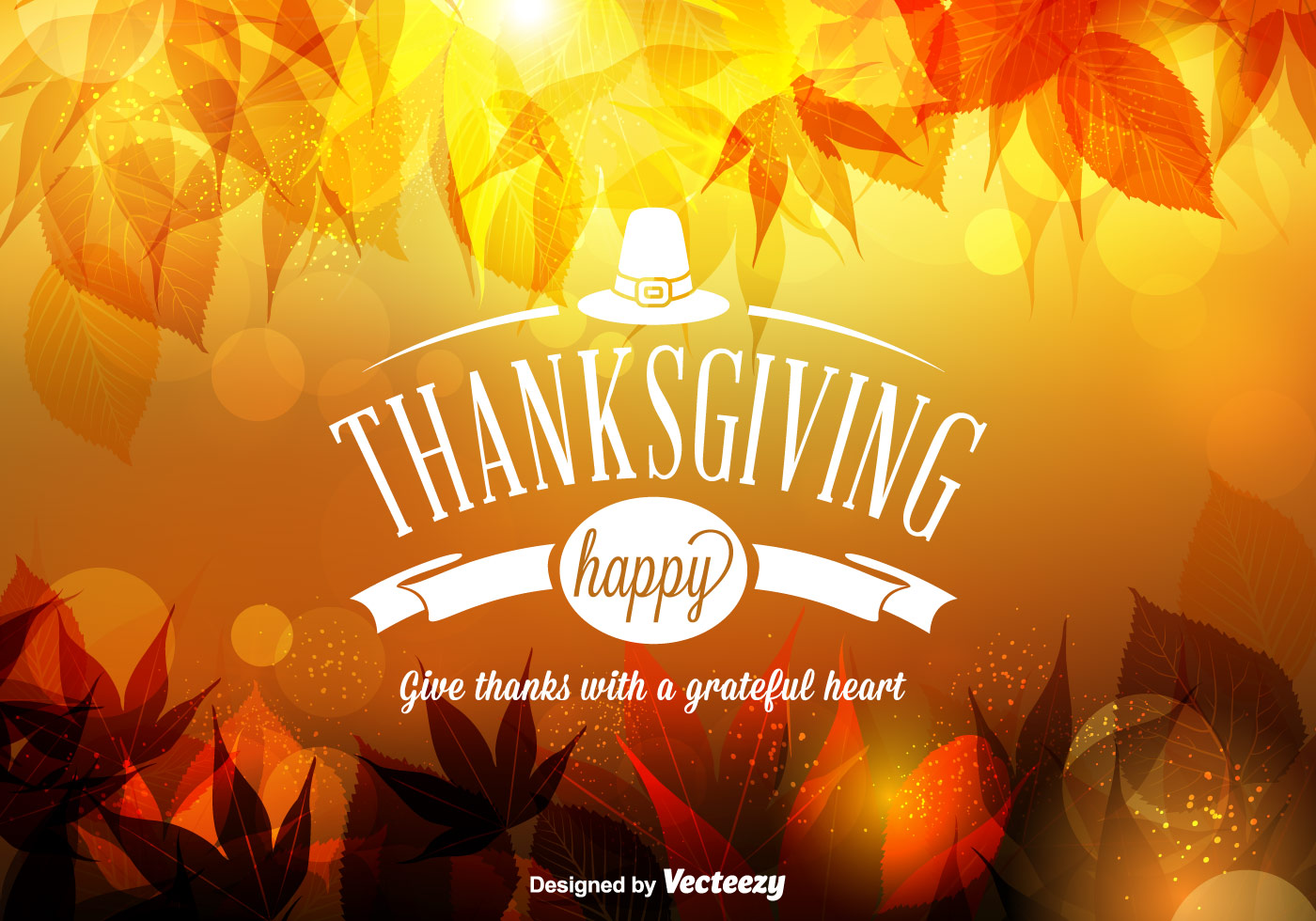 Fall Harvest Wallpaper Christian Vector Happy Thanksgiving Background Download Free