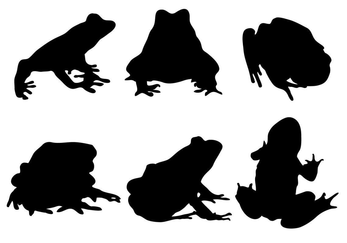 Download Free Frog Silhouette Vector - Download Free Vector Art ...