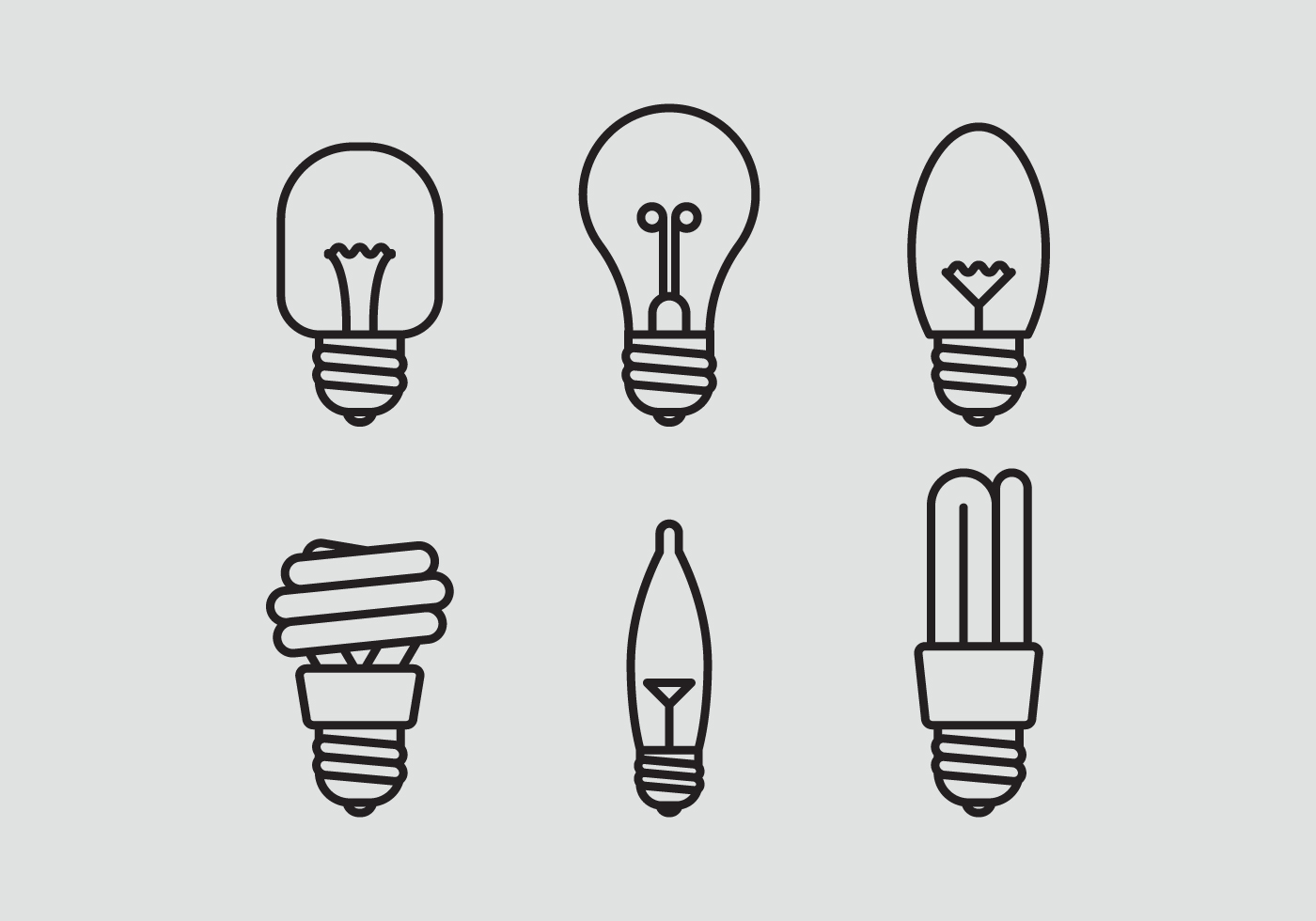 Light Bulb Free Vector Art