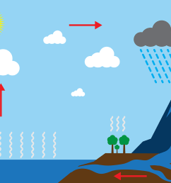 free water cycle diagram vector [ 1400 x 980 Pixel ]