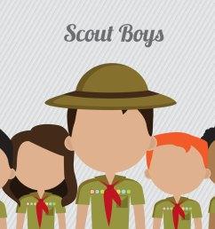 boy scout clipart [ 1400 x 980 Pixel ]