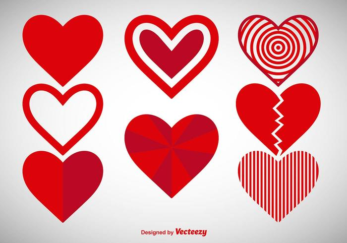 free heart vector art