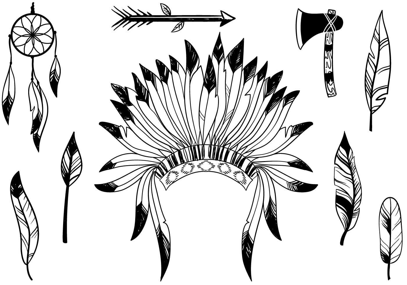 Native American Vectors