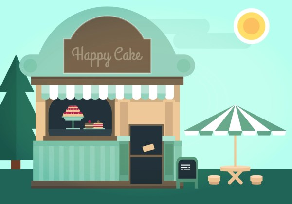Cake Illustration Vector Images Free