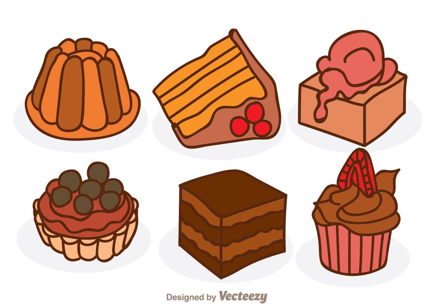 Cartoon Chocolate Cake Download Free Vectors Clipart