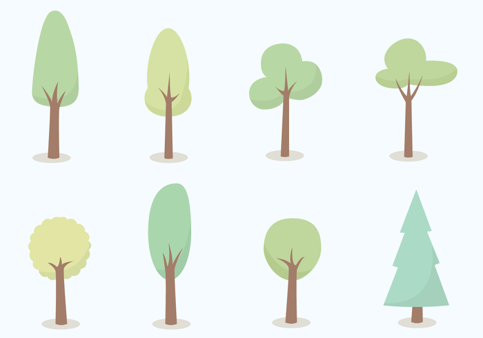 tree free vector art