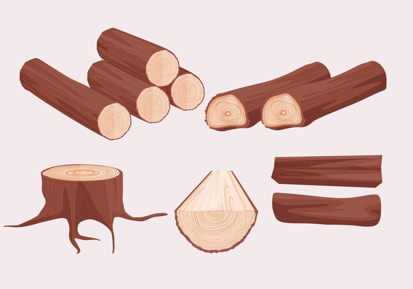 tree trunk free vector