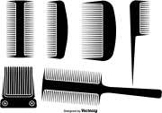 hair comb and clipper design