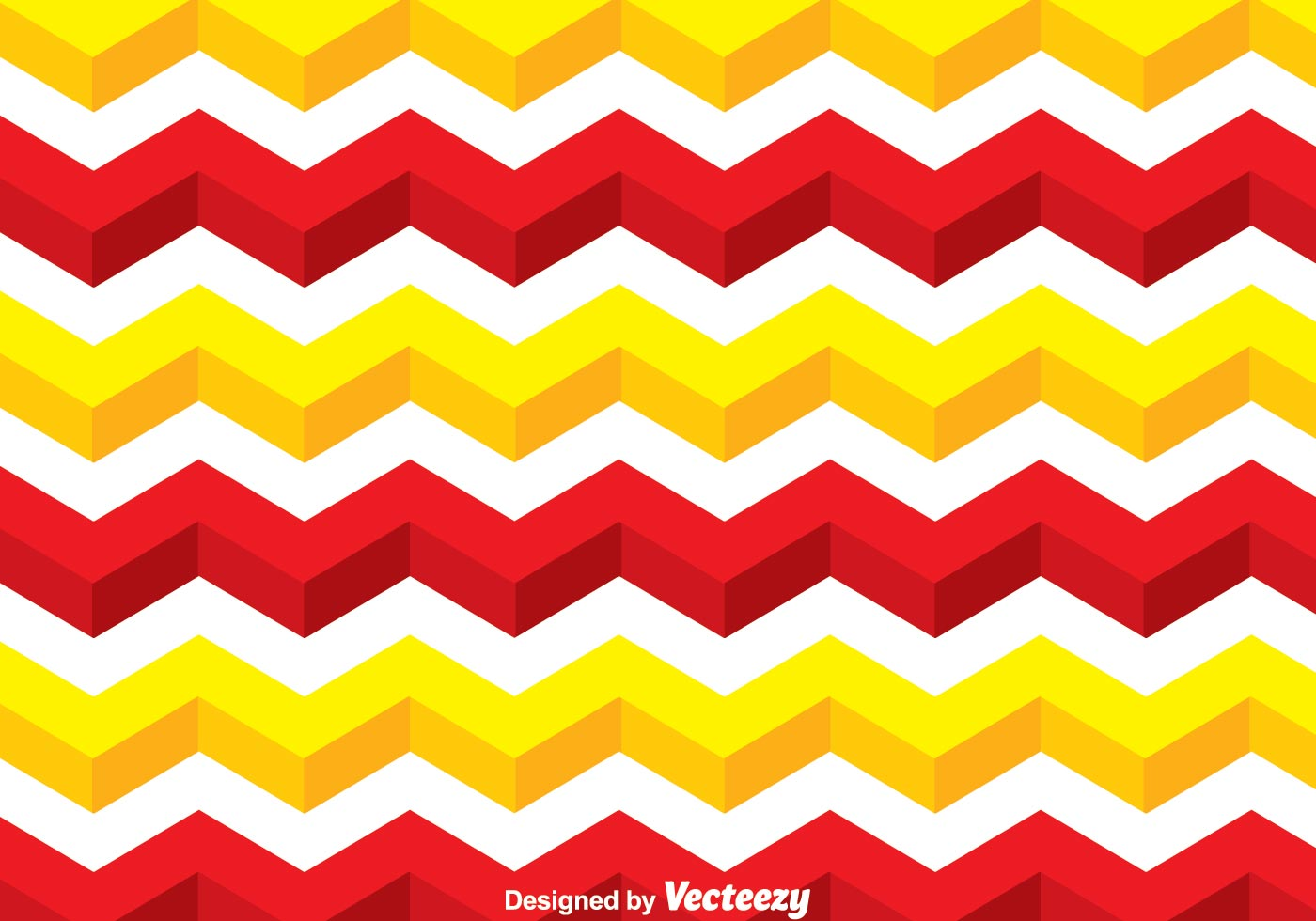 Yellow And Red Line Chevron Pattern  Download Free Vector