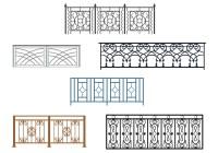 Curved Balcony Rails Vectors - Download Free Vector Art ...