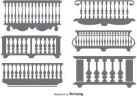 Balcony Railing Vector | Joy Studio Design Gallery - Best ...