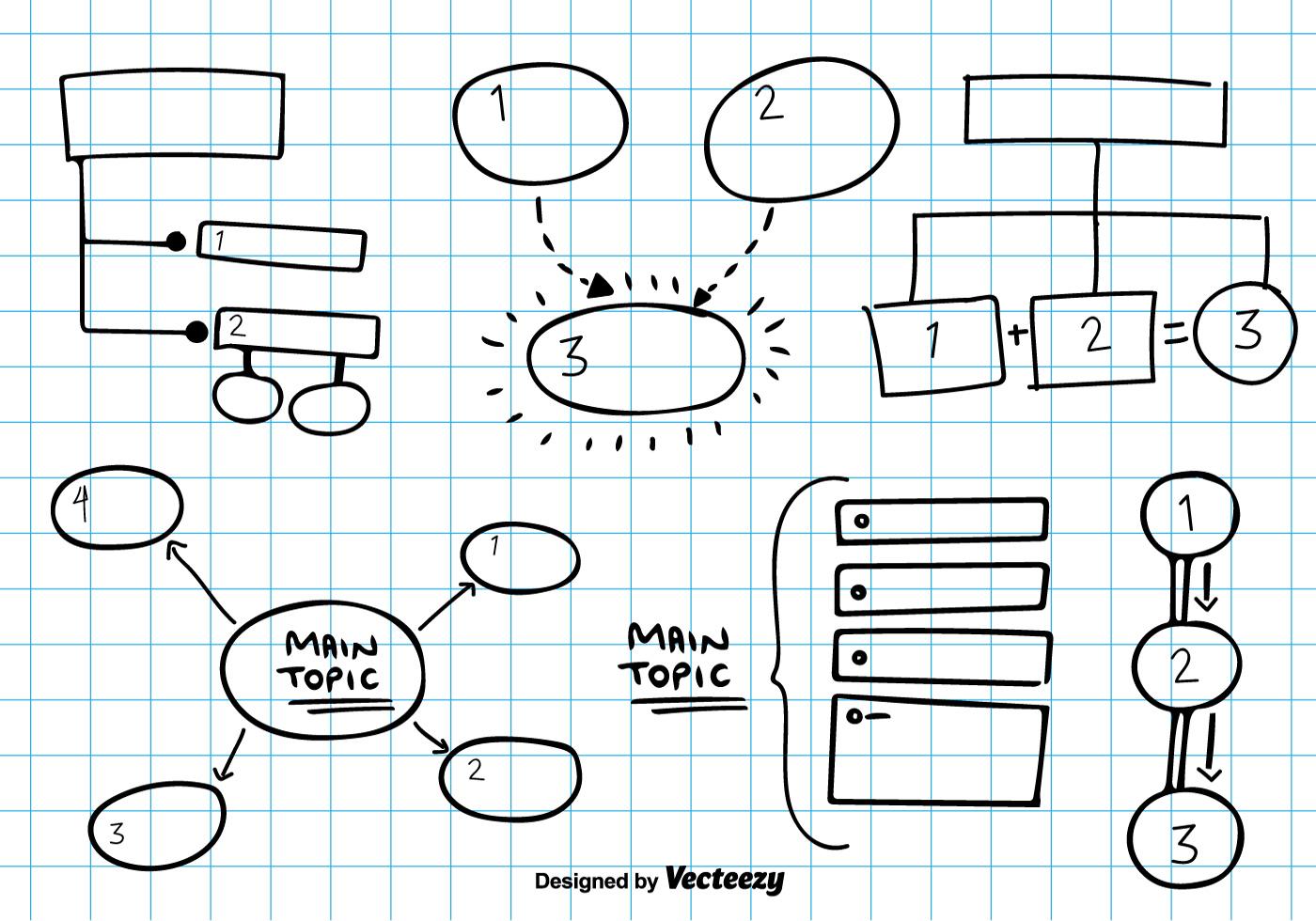 Mind Map Vector Sketch Download Free Vector Art Stock