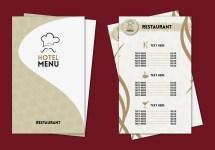 Hotel Menu Professional Template Vector - Free