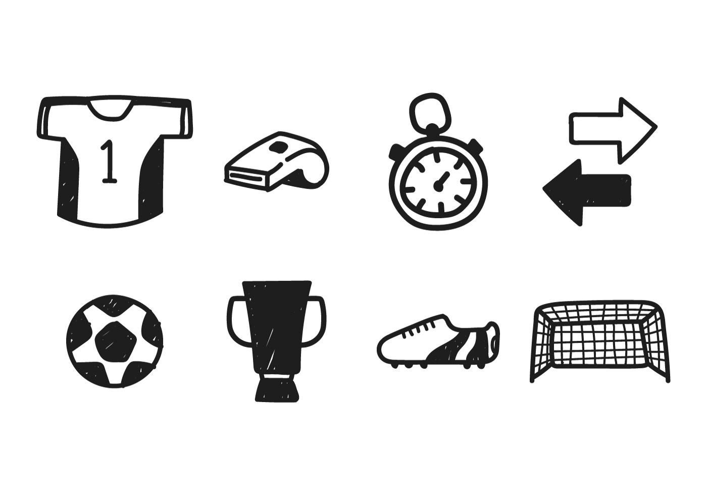 Football Kit Drawing Vectors