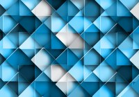 Seamless Geometric Blue Pattern - Download Free Vector Art ...